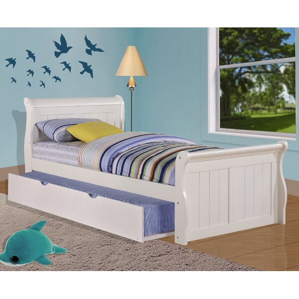 Jacquline Platform Bed with Twin Trundle by Harriet Bee