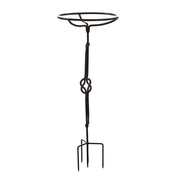 Wrought Iron Birdbath Stand by Evergreen Flag & Garden