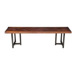 Suismon Wood Bench by Union Rustic