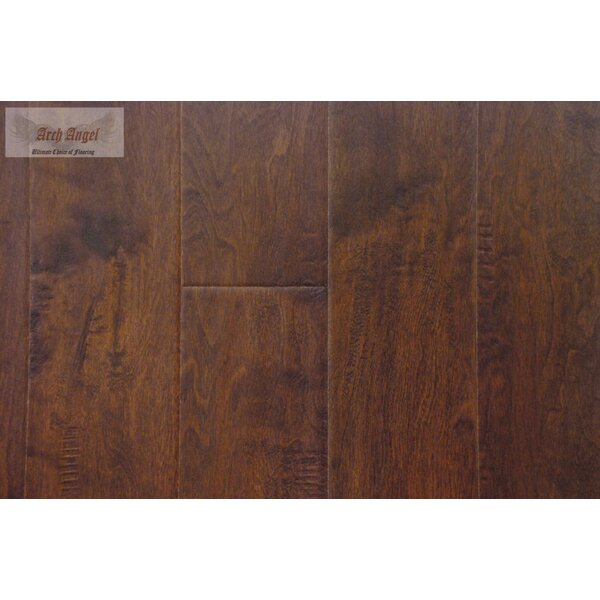 0.5 x 0.75 x 94 Birch Quarter Round in Hudson Port by All American Hardwood