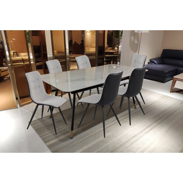 Swart 7 Piece Dining Set by Brayden Studio