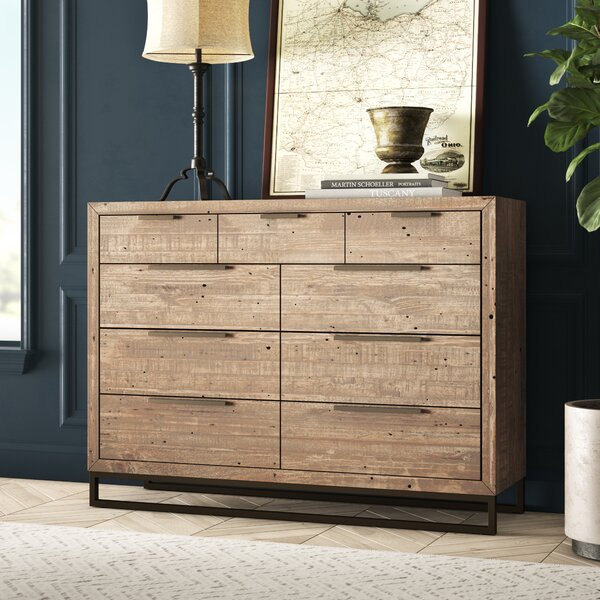 Glenda 9 Drawer Double Dresser by Greyleigh