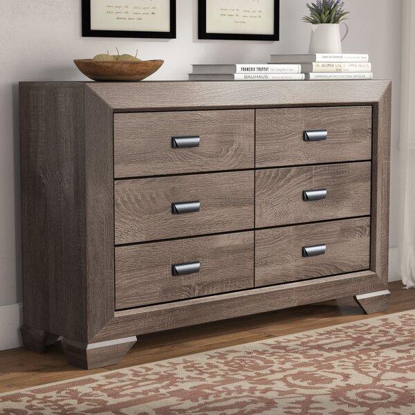 Westman 6 Drawer Double Dresser by Gracie Oaks