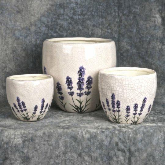 3-Piece Ceramic Pot Planter Set by Mr. MJs