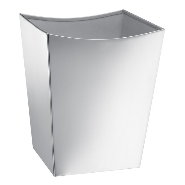 Arleta 1.75 Gallon Waste Basket by Orren Ellis