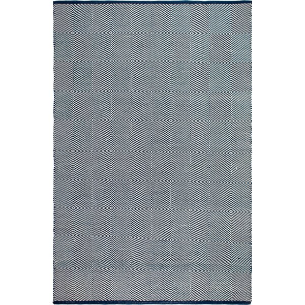 Zen Hand Woven Blue/White Indoor/Outdoor Area Rug by Fab Habitat