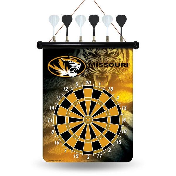 NCAA Magnetic Dartbaord Set by Rico Industries Inc