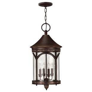 Bargain Lucerne 4-Light Outdoor Hanging Lantern By Hinkley Lighting