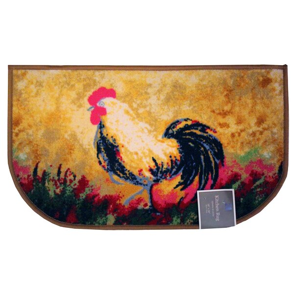Rooster Kitchen Mat by Kashi Home
