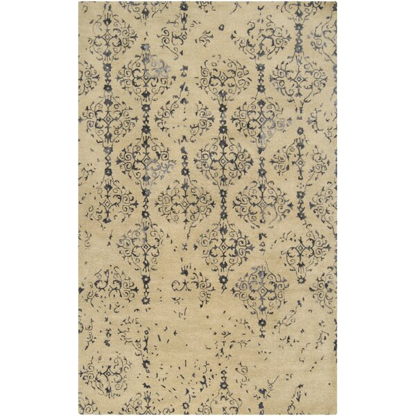 Bower Brown/Tan Area Rug by Bungalow Rose