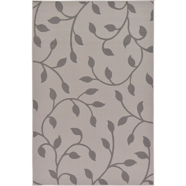 Kozak Floral Gray Area Rug