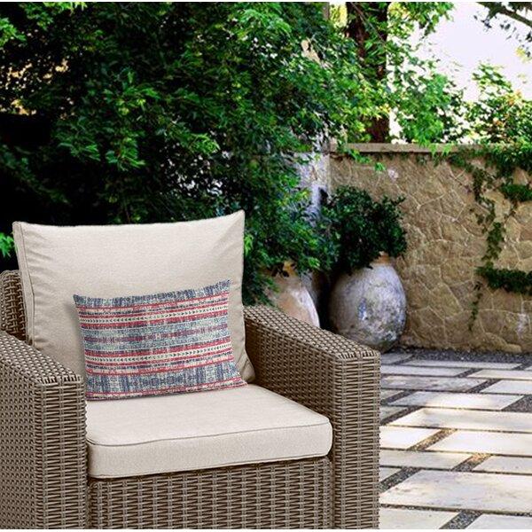 Hagley Outdoor Lumbar Pillow by Bungalow Rose