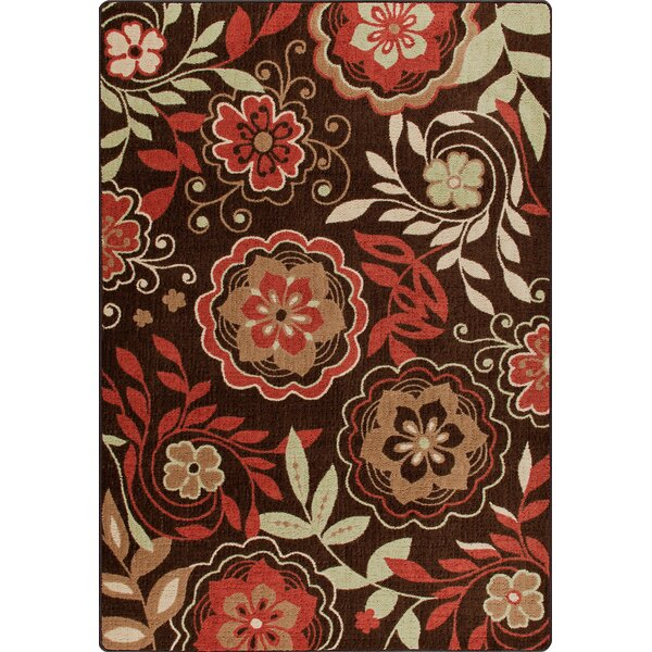 Mix and Mingle Native Red Garden Passage Rug by Milliken
