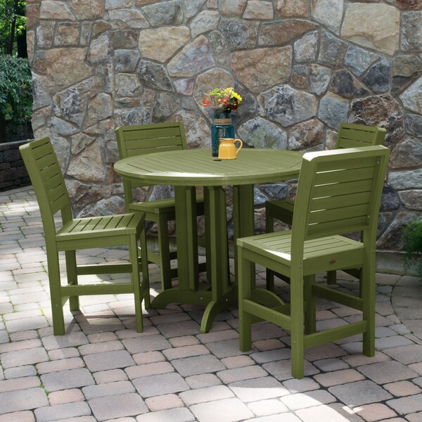 Fonso 5 Piece Dining Set by Longshore Tides