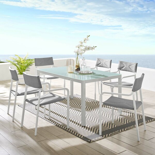 Merlene 7 Pieces Dining Set by Ivy Bronx