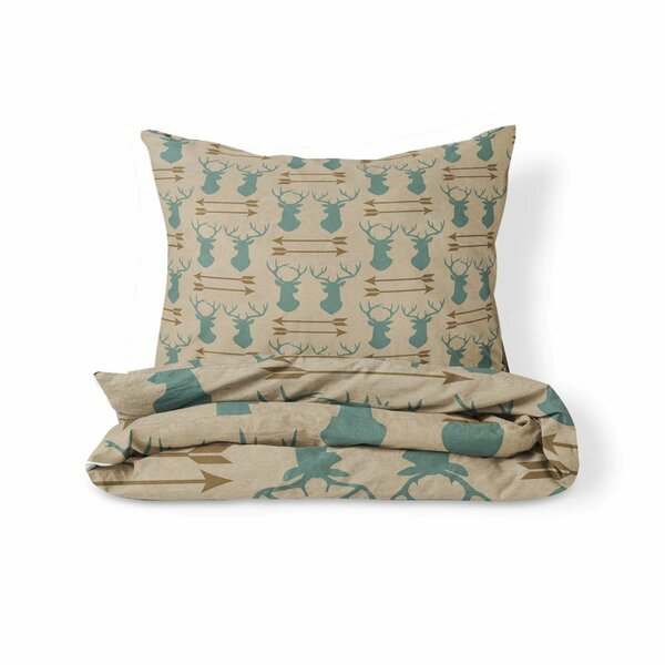 Lavery Antlers and Arrows Duvet Cover Set