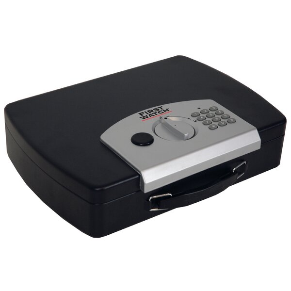 First Watch 13 Personal Contoured Security Safe with Electronic Lock by Homak