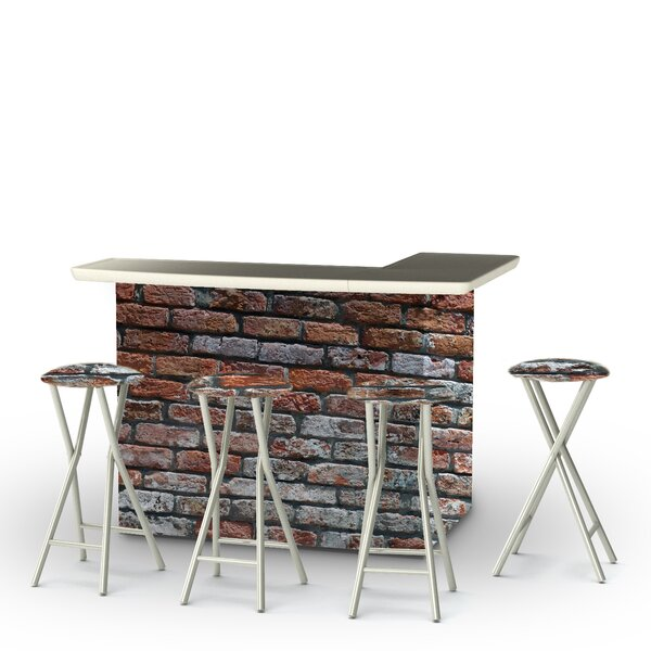 London Brick 5-Piece Bar Set by Best of Times