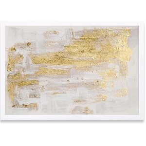 'Pure' Love Framed Painting Print by Willa Arlo Interiors