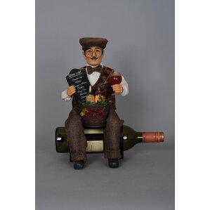 Classic Home 1 Bottle Tabletop Wine Rack by Karen Didion Originals
