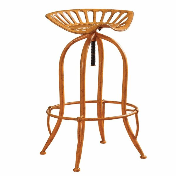 Mccloskey Adjustable Height Bar Stool by Williston Forge