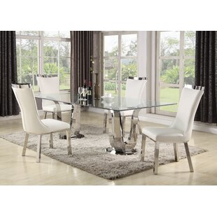 Kenya 5 Piece Dining Set By Orren Ellis