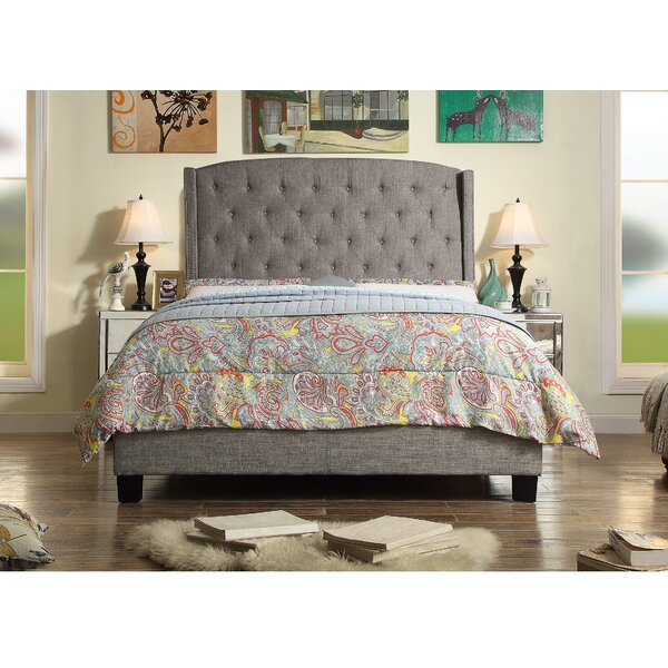 Rawlinson Upholstered Standard Bed by Charlton Home Charlton Home