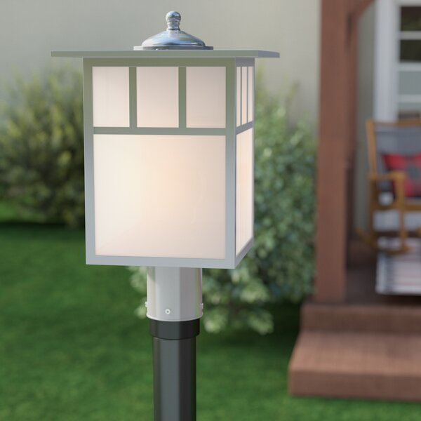 Joelle Outdoor 1-Light Lantern Head by Loon Peak