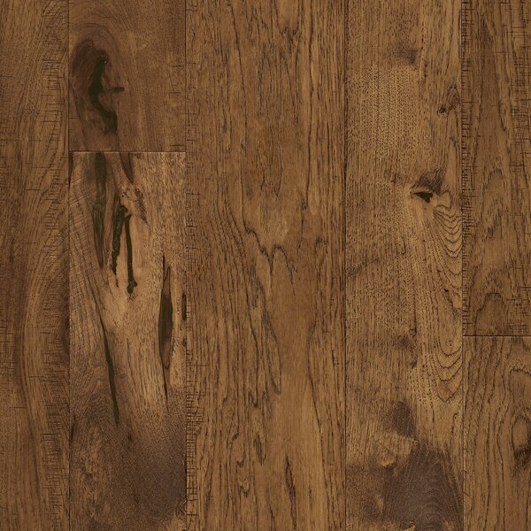 Random Width Engineered Hickory Hardwood Flooring in Harvest Field by Armstrong Flooring