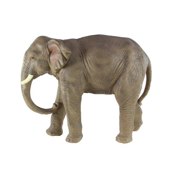 Henricks Traditional Elephant Resin Figurine by World Menagerie