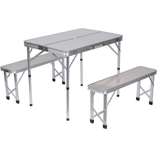 3 Piece Picnic Table Set by Trademark Innovations
