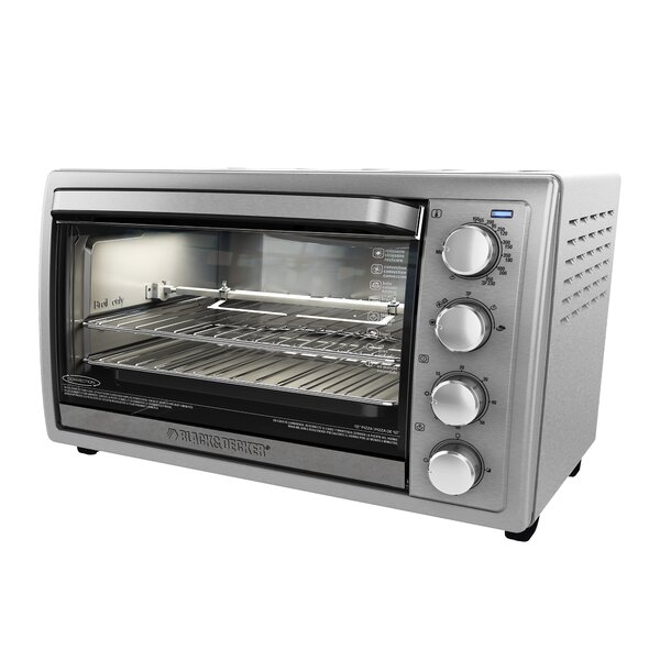 9-Slice Stainless Steel Rotisserie Oven by Black + Decker