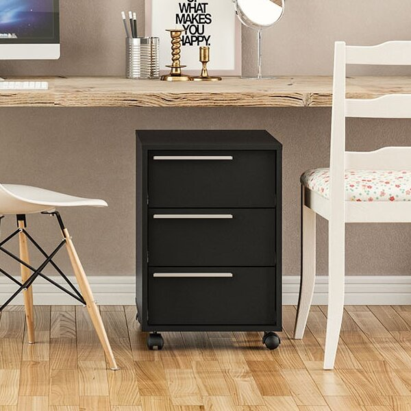Kolton 3 Drawer Vertical Filing Cabinet by Zipcode Design