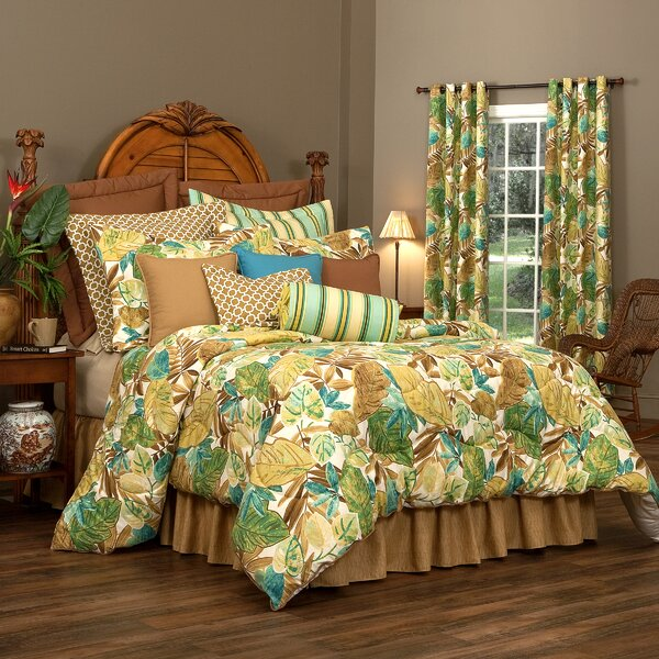 Delafuente 100% Cotton Comforter Set