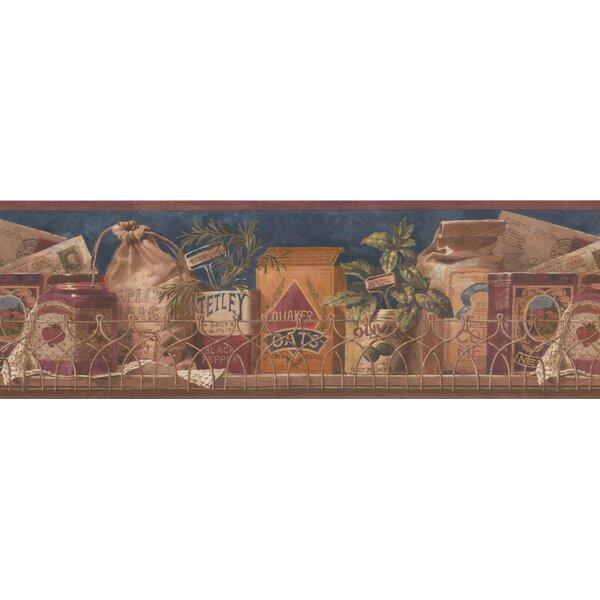 Checketts Spices Wallpaper Border by Fleur De Lis Living