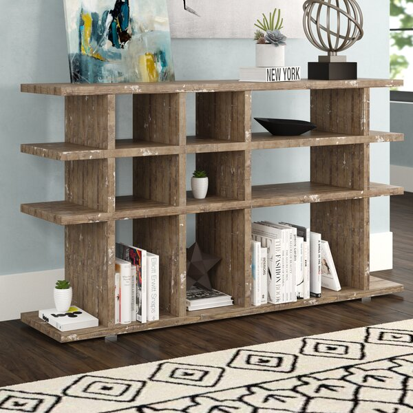 Eberhard Geometric Bookcase by Brayden Studio