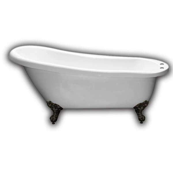 61 x 28 Clawfoot Soaking Bathtub by Cambridge Plumbing