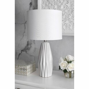 Coupon Bayside Ceramic 25 Table Lamp By Langley Street