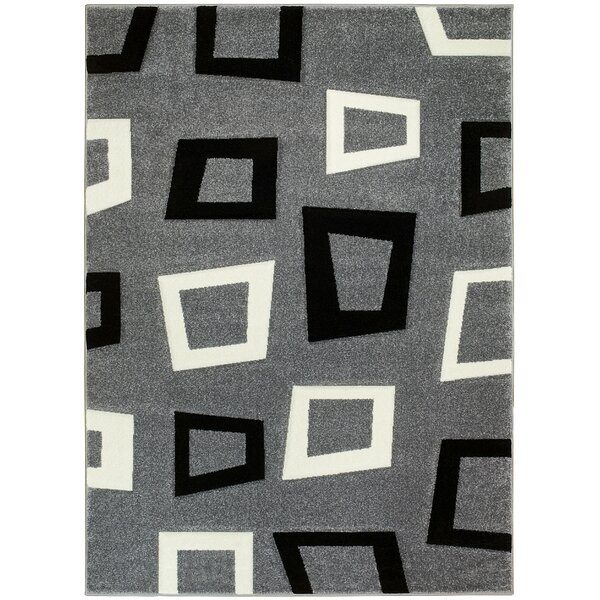 Gray Area Rug by Brady Home