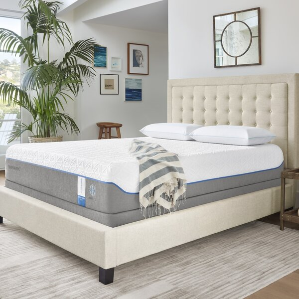 Cloud Supreme Breeze 11'' Plush Memory Foam Mattress with Ergo Plus Adjustable Foundation by Tempur-Pedic