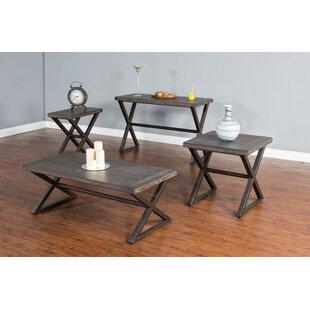 Brittani Coffee Table Set ByUnion Rustic