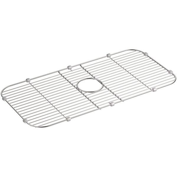 Stainless Steel Sink Rack, 27-7/8 x 13-7/8 for K-5290-Na Undertone and K-5290-Hcf Undertone Preserve Sinks by Kohler