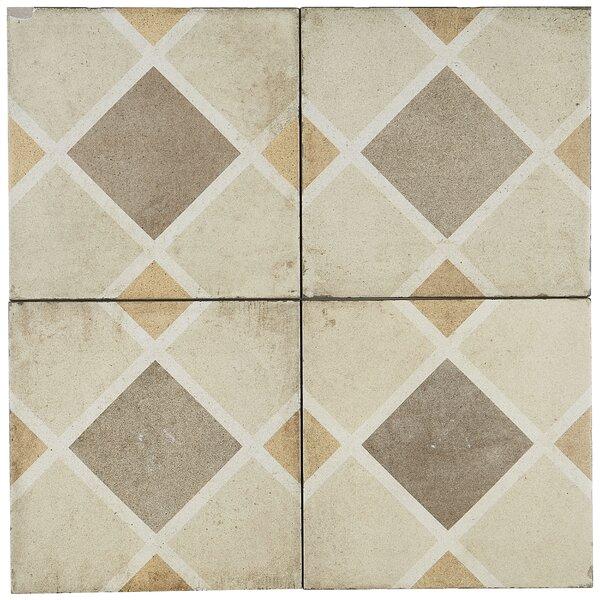 8 x 8 Porcelain Field Tile in Rombo by Itona Tile