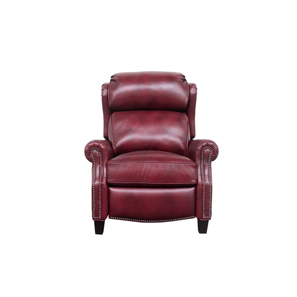 Lenhardt Leather Manual Recliner by Darby Home Co