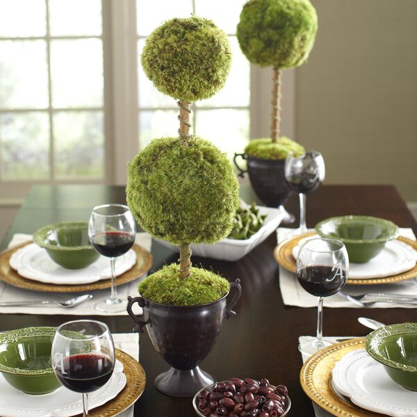 Latham Preserved Moss Double Topiary by Birch Lane™