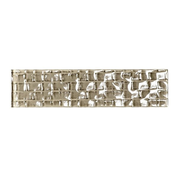 Metro 2 x 8 Glass Subway Tile in Olive by Abolos