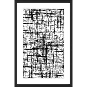 'Aesthetic Singularity' Framed Painting Print by Marmont Hill