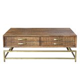 Ferdinand Sled Coffee Table with Storage by Foundry Select