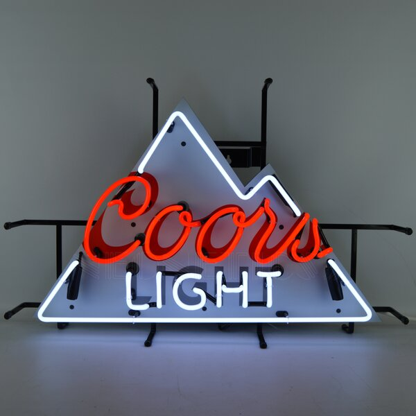 Coors Light Beer Neon Sign by Neonetics