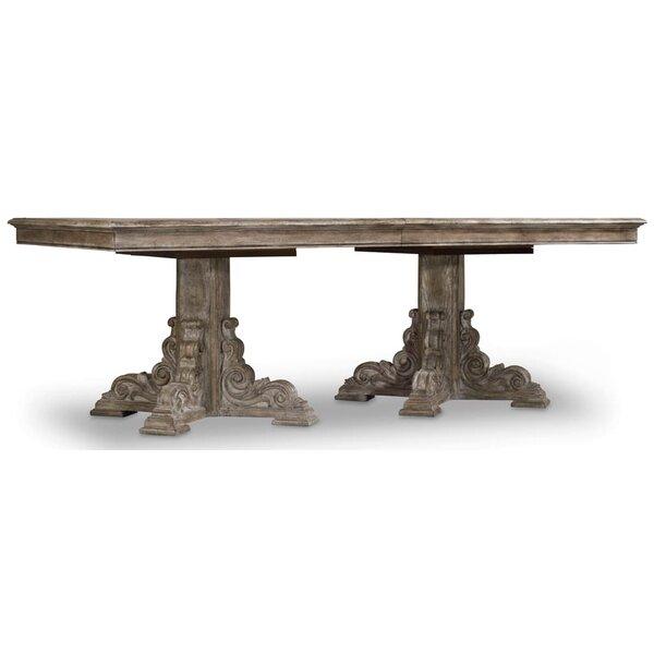 True Vintage Extendable Dining Table by Hooker Furniture Hooker Furniture
